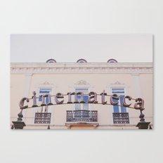 Cinemateca Canvas Print