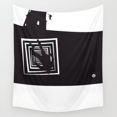 The Black Collection' Vertigo Wall Tapestry