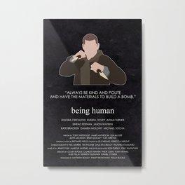 Being Human - Tom McNair Metal Print