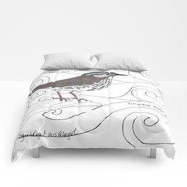 Louisiana Waterthrush Comforters