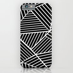Ab Lines Zoom Black iPhone 6s Slim Case