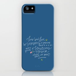 Juliet+Romeo iPhone Case