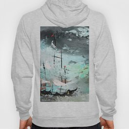 Boat in The Storm Hoody