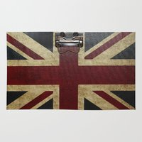 england Area & Throw Rugs featuring England Reisen by Fine2art