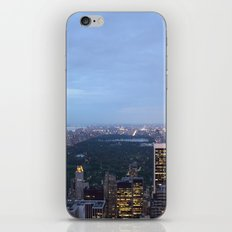 Central Park View from Rockefeller Centre iPhone & iPod Skin