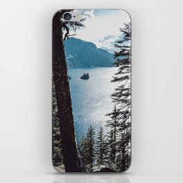 Mountain Lake Retreat iPhone Skin