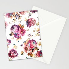 VINTAGE FLOWERS XXXIV - for iphone Stationery Cards