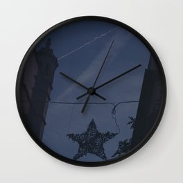 Christmas in Palma Wall Clock