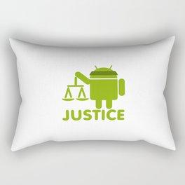 Game Justice Rectangular Pillow