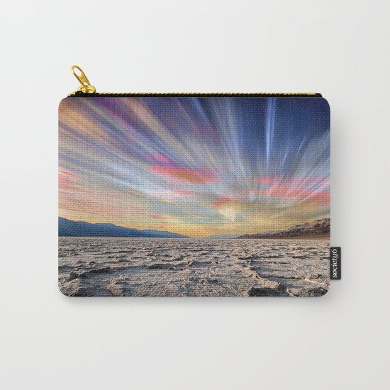 Stopping Time : Colorful Sky Landscape Carry-All Pouch