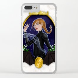 Defender of the Rainbow Clear iPhone Case