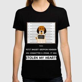 Petit Basset Griffon Vendeen Mugshot T-shirt