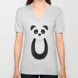 Panda Nursery Art Unisex V-Neck