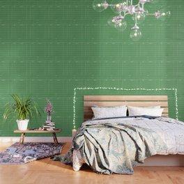 Library Card BSS 28 Negative Green Wallpaper