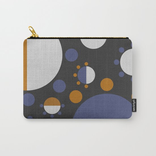 MORE AND MORE CIRCLES  (abstract pattern Carry-All Pouch