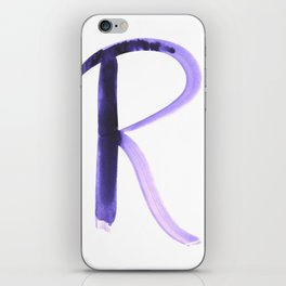 Letter  R iPhone Skin