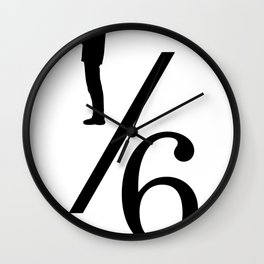 One Sixth Ism Wall Clock