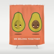 We Belong Together Shower Curtain