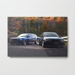 Stuart Moulton's ESS supercharged BMW E46 Wagon & ZHP Metal Print