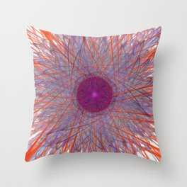 Trifida Nebulae Throw Pillow