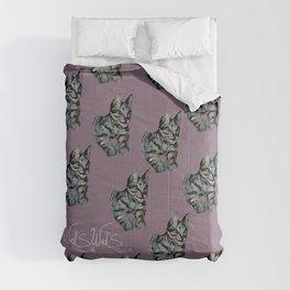 PURPLE CAT Comforters