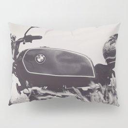Scrambler photography, motorcycle lovers, motorbike, café racer, cafe racer, man cave gift Pillow Sham