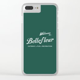 Welcome to Bellefleur Clear iPhone Case