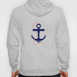 AFE Navy Anchor and Chain Hoody