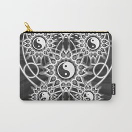 Seven Yin Yang Symmetry Balance Energy Carry-All Pouch