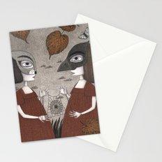 Ana and Eva (An All Hallows' Eve Tale) Stationery Cards