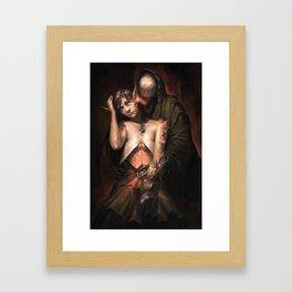 Whisper you my secrets Framed Art Print