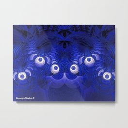 I Found Monsters in My Fractal Metal Print