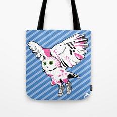 Owl w/ sneakers Tote Bag