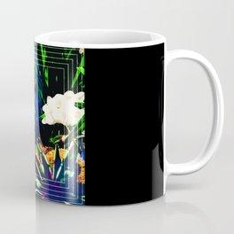 Layered Reality Blue Face Coffee Mug