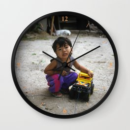 My Only Toy Wall Clock