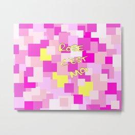 Pink is Me Metal Print
