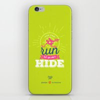 dota iPhone & iPod Skins featuring You Can Run by DotaZone Store