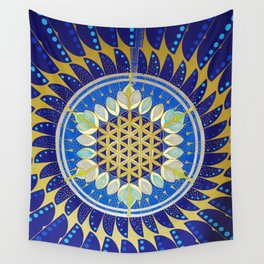 The Seed of Life Wall Tapestry