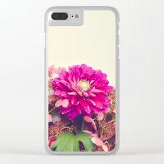 Autumn Love Clear iPhone Case
