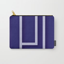 Indigo Lines Carry-All Pouch