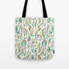 White garden Tote Bag