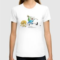 finn and jake T-shirts featuring Finn & Jake by Dan Bingham