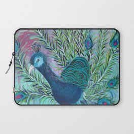 Tail of the Peacock Laptop Sleeve