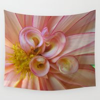 dahlia Wall Tapestries featuring Dahlia 89 by Rodapsoh