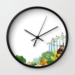Garden miracles Wall Clock