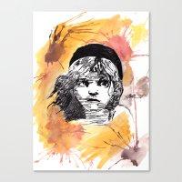 les miserables Canvas Prints featuring Les Miserables by Taylor Starnes