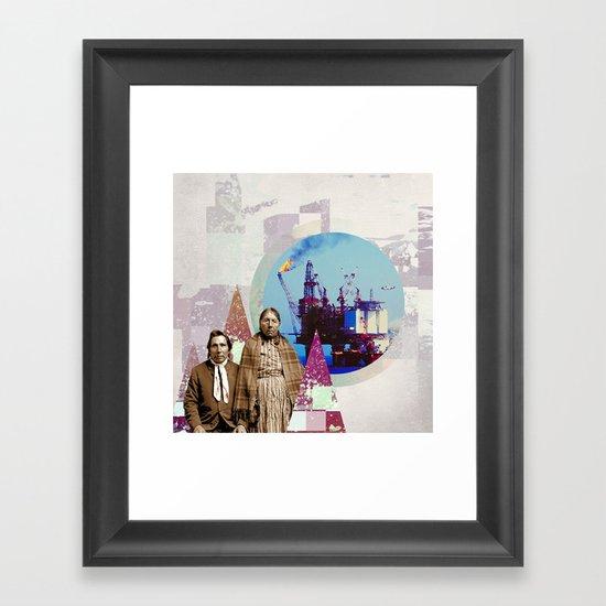 |NATIVES| Framed Art Print