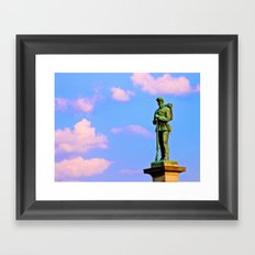 Still On Guard Framed Art Print