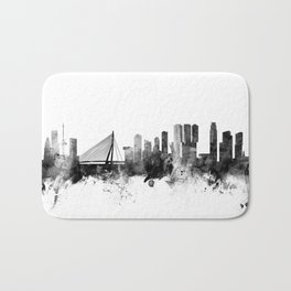 Rotterdam The Netherlands Skyline Bath Mat