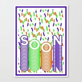 SOON B Canvas Print